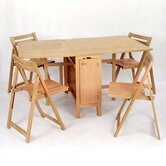 Space Saver 5 Piece Dining set