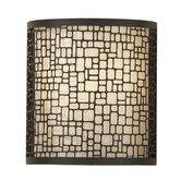 Joplin One Light Wall Sconce in Light Antique Bronze