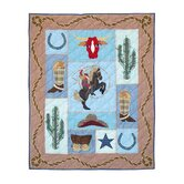 Cowgirl Cotton Crib Quilt