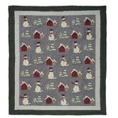 Snowman Quilt