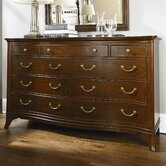 Cherry Grove New Generation Triple 9 Drawer Dresser