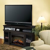 Bennett 66&quot; TV Stand with Electric Fireplace