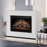 Contemporary Convertible Electric Fireplace