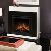 "33"" Convertible Contemporary Electric Fireplace"