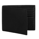5 Pocket ID Wallet in Nappa Onyx