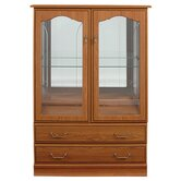 Lichfield 2 Door / 2 Drawer Display Cabinet