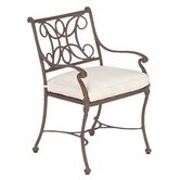 Chateau Dining Arm Chair with Cushion