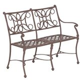 Chateau Aluminum Entryway Garden Bench