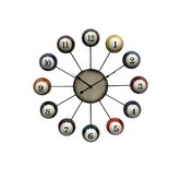 Pool Cue Ball Clock
