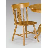 Yorkshire Fiddleback Chair in Honey Pine