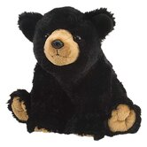 Cuddlekin Black Bear Plush Stuffed Animal
