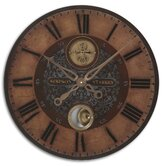 Simpson Starkey Weathered Laminated Clock
