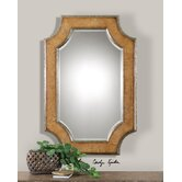 Besslen Mirror in Light Walnut stain