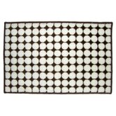 Dots White/Chocolate Rug