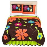 Valley of Flowers Comforter Set in Bright Multi
