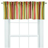 Dots and Stripes Spice Valance in Bright Multicolor