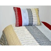 Plaids and Stripes Boy's Quilt Collection