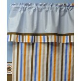 Mod Sports Stripes Curtain Panel
