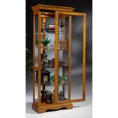 Traditional Oak Additional Shelf for Andante II Two-Way Display Cabinet