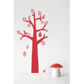 Bird Tree Kids Wall Sticker