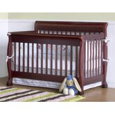 Kalani 4-in-1 Convertible Crib with Toddler Rail in Cherry
