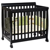Kalani Mini Convertible Crib in Ebony