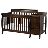 Kalani 4-in-1 Convertible Crib and Changer Combo