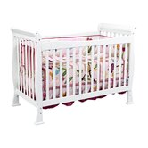Reagan Three Piece Convertible Crib Nursery Set  with Toddler Rail in Oak