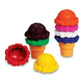 Rainbow Color Cones