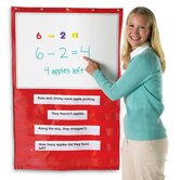 Write and Wipe Magnetic Hanging Pocket Chart