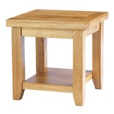 Taunton Lamp Table in Medium Oak