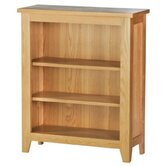 Norfolk Dining Small Bookcase in Natural Light Oak