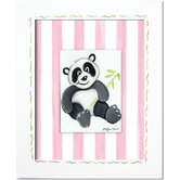 Pandas and Penguins Panda Giclee Wall Art