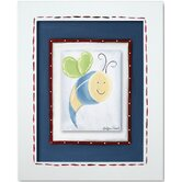 Frogs Bee Framed Giclee Wall Art