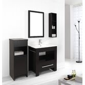"Masselin Single 32"" Bathroom Vanity Set in Espresso"
