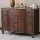 Natalia Single 48&quot; Bathroom Vanity in Antique Cherry