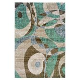 Milan Tan/Seaglass Rug