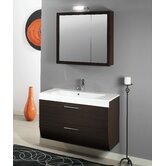 "New Day NN4 30.4"" Wall Mounted Bathroom Vanity Set"
