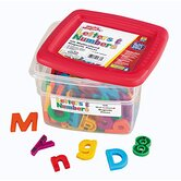 AlphaMagnets and MathMagnets Combo Set Multicolored