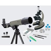 GeoVision Telescope and Microscope Set