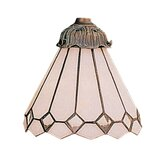 Mix-N-Match 6&quot; Glass Shade in Bisque