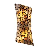 Trego Wall Sconce in Dark Rust