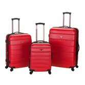 Melbourne 3 Piece ABS Luggage Set
