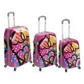 Rockland Polka Dot Luggage