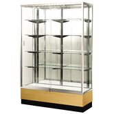 "Streamline 60"" x 18"" Trophy Case with Mirror Back"