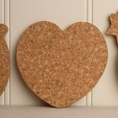 Cork Heart Coaster (Set of 4)