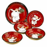 Viva La Pasta 5 Piece Pasta Set by Tracy Flickinger