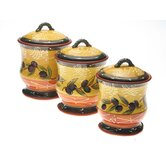 French Olives Canister (Set of 3)