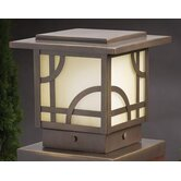 Larkin Estate Small Deck Light in Olde Bronze