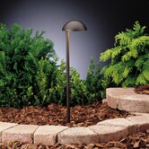 Textured Architectural Bronze Side Mount Eclipse Landscape Path Light